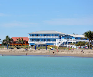 Beachfront Inn, beach hotel, Hutchinson Island, Fort Pierce Florida