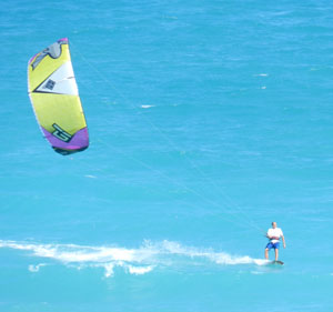 Kite Surfing Hutchinson Island Florida