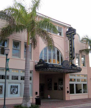 Sunrise Theatre, Fort Pierce, Florida